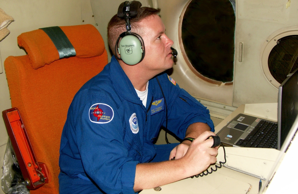 Paul Flaherty at the Flight Director station.