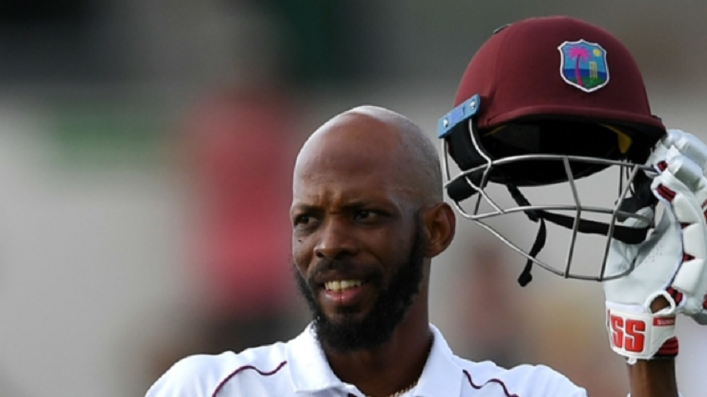 West Indies all-rounder Roston Chase.