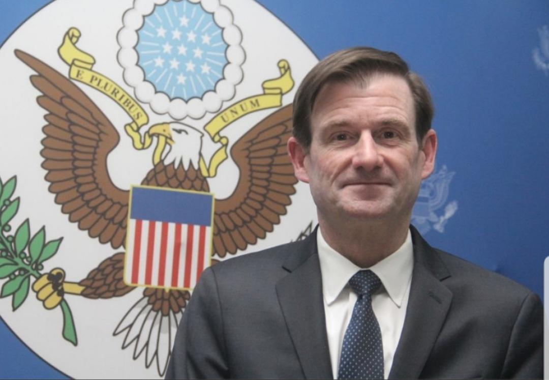 Sur la photo, le sous-secrétaire d'Etat américain aux affaires politiques, David Hale.