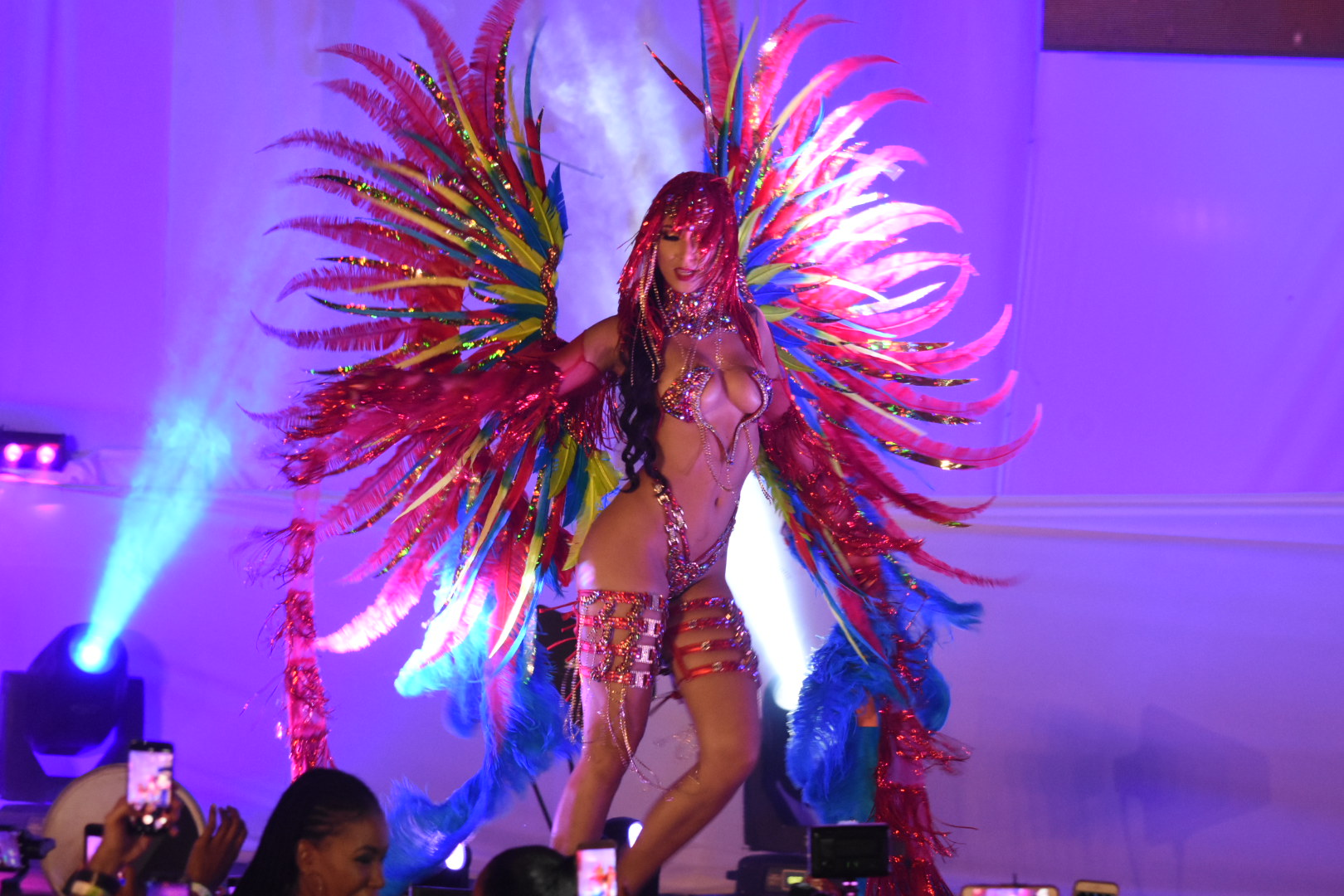 The costume Redd by Trinbagonian David Dewer (Photos: Marlon Reid)