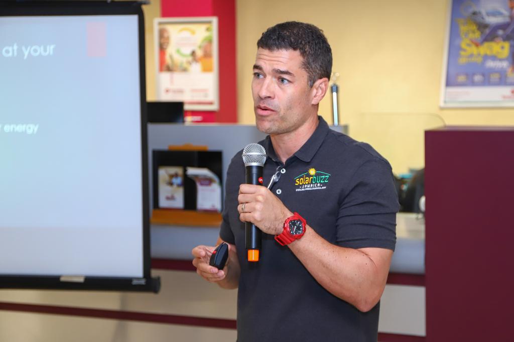 Jason Robinson, CEO, Solar Buzz Jamaica.