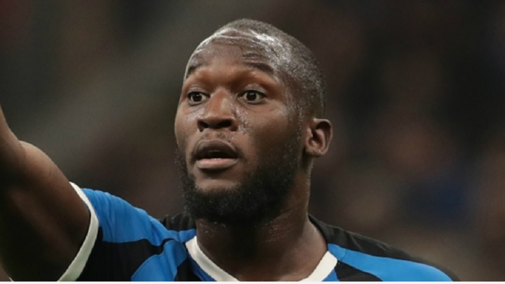 Inter striker Romelu Lukaku.
