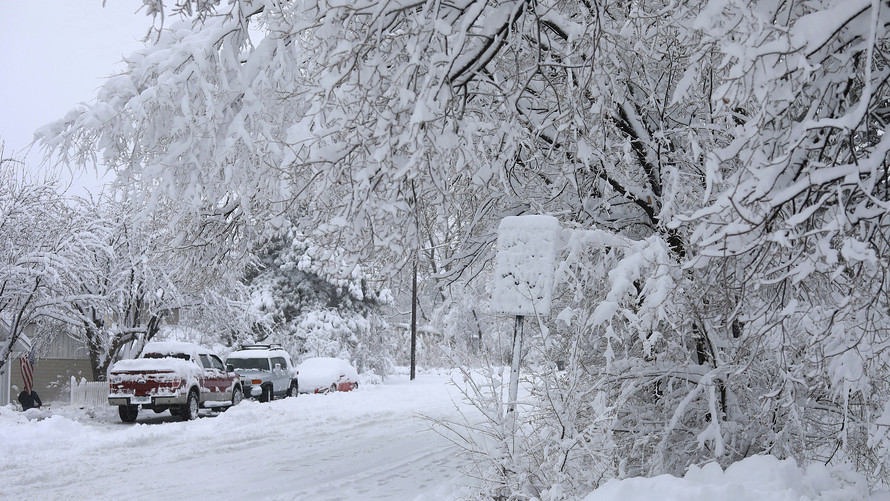 Winter Storm Moves Across The Region; Road Closures and Travel Advisories Issued