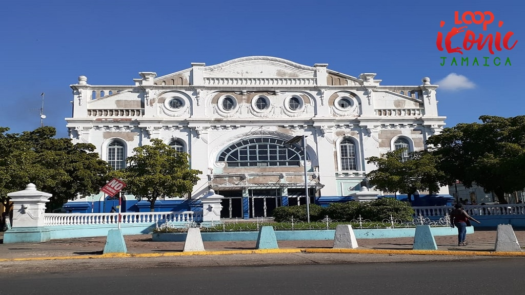 The Ward Theatre in downtown KIngston. All the landmarks, except Kingston Parish Church, King's House and the Holy Trinity Cathedral, were photographed by Loop News' Marlon Reid.