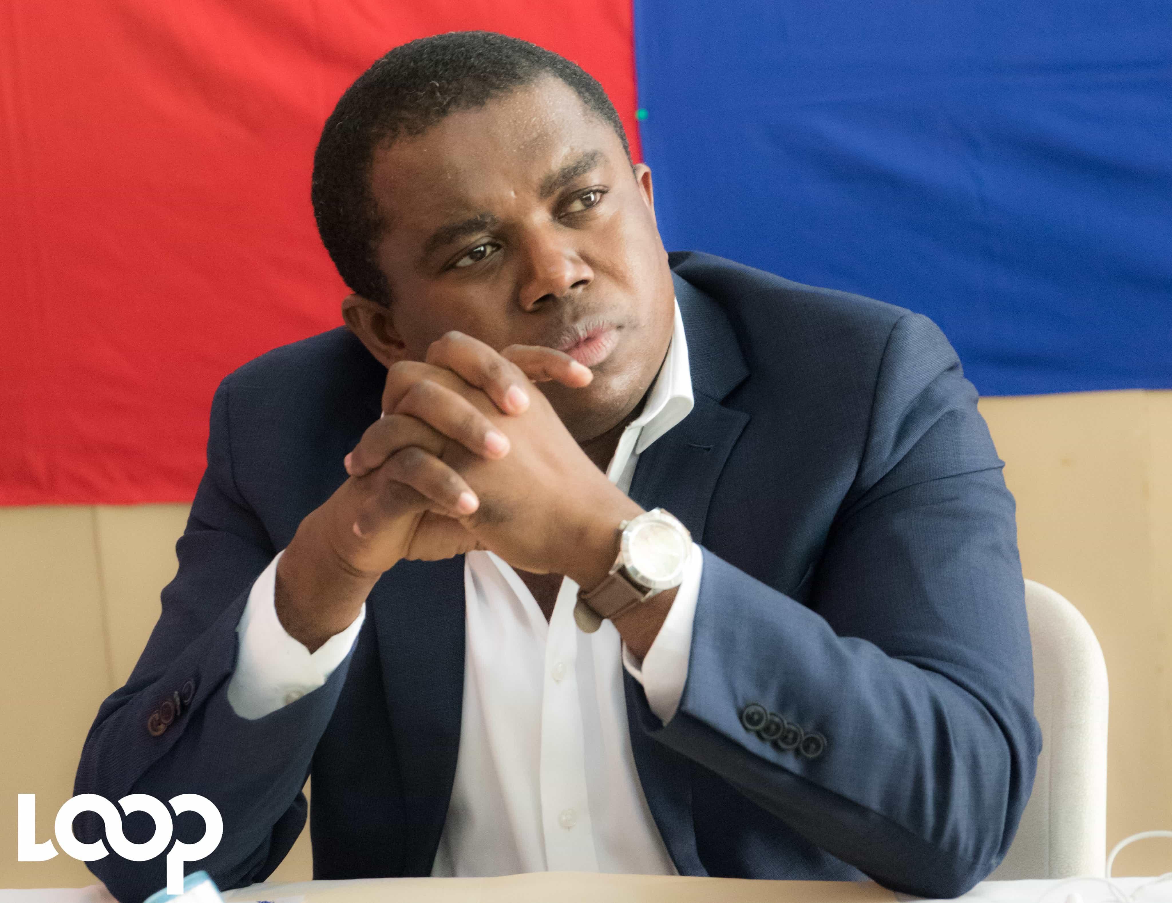 André Michel, membre de l'opposition politique / Photo: Loop Haiti