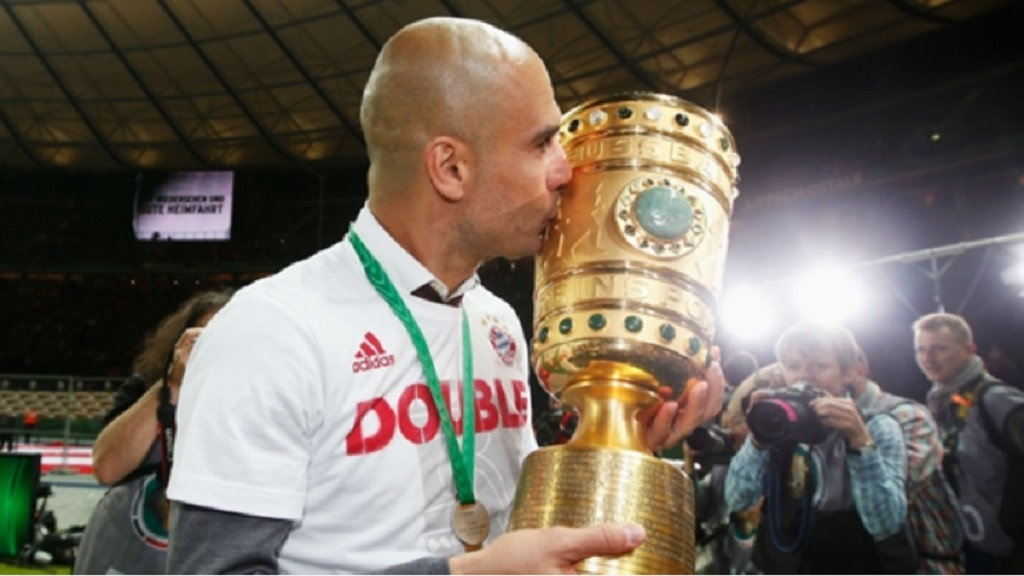 Pep Guardiola was a huge success at Bayern Munich.