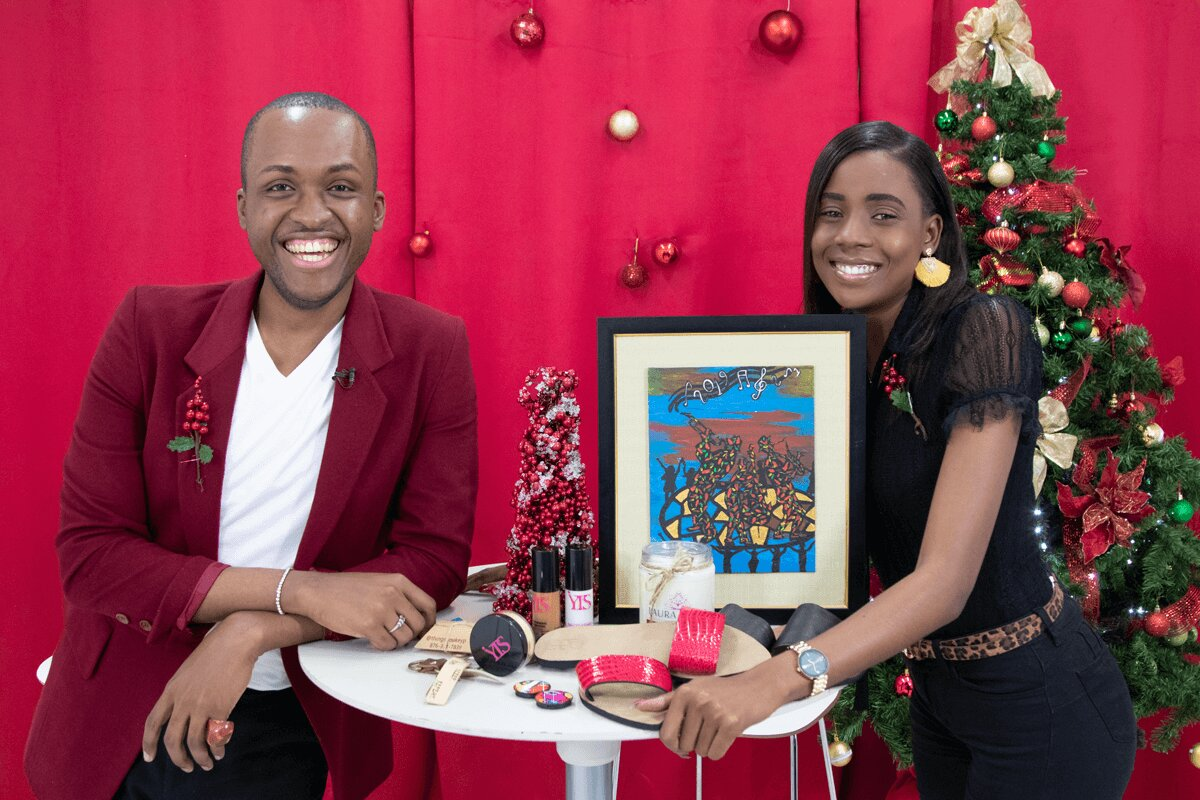 Total Local hosts Kadeem and Shanique share the season's must-have gifts.