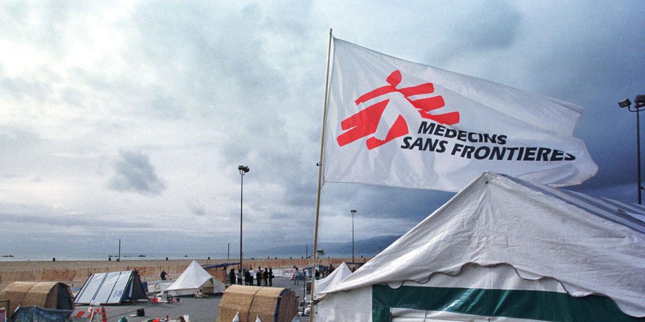Le nouveau centre hospitalier MSF/ Crédit Photo AFP