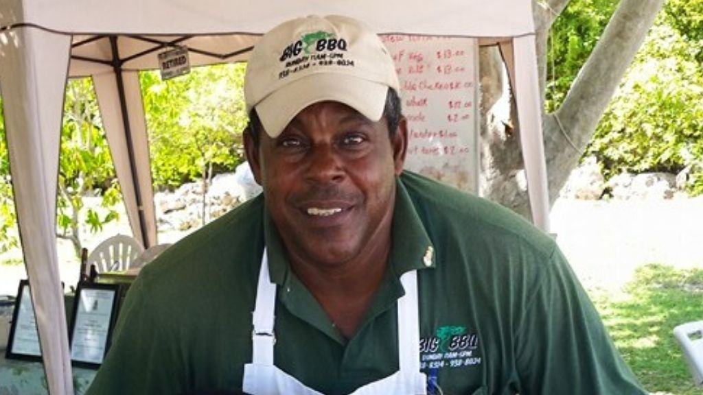 Chef Henry Harris of Big Tree BBQ; 