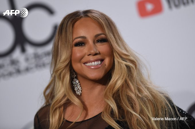 """All I Want for Christmas Is You"" de Mariah Carey devient numéro un, 25 ans après. Photo : AFP"