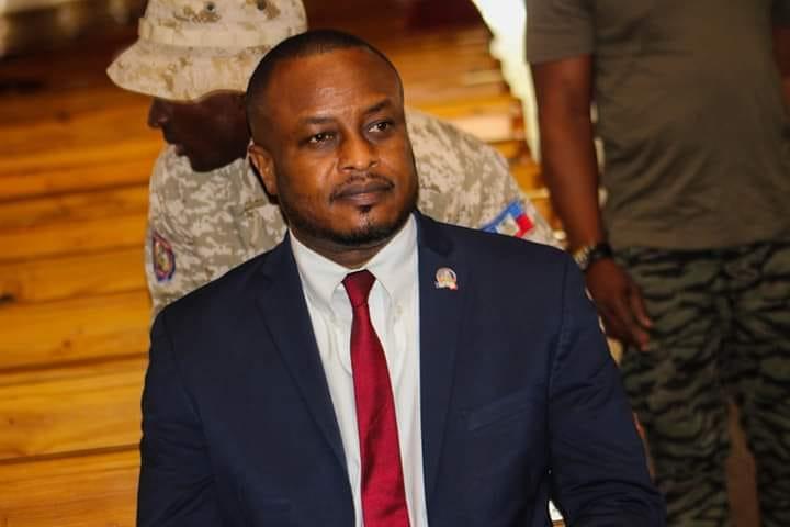 Le maire Josué Alusma. Crédit photo: Mairie de Port-de-Paix/Facebook