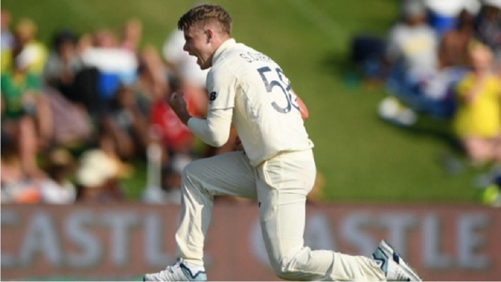 Sam Curran starred for England against South Africa.