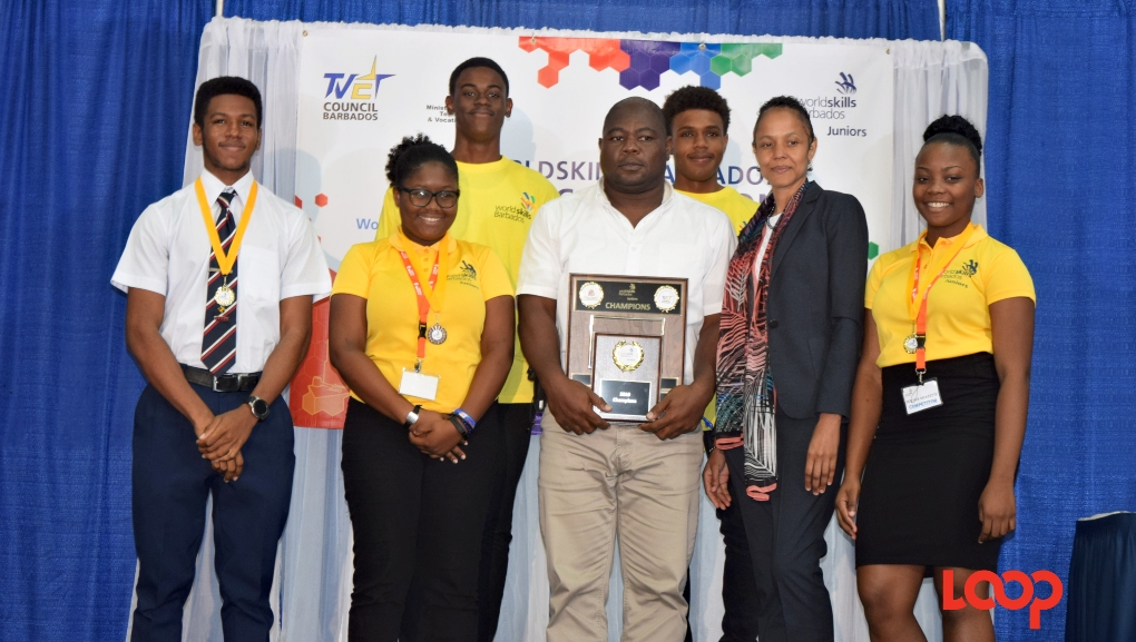 Queen's College was the winning school of the inaugural Worldskills Barbados Juniors Competition.