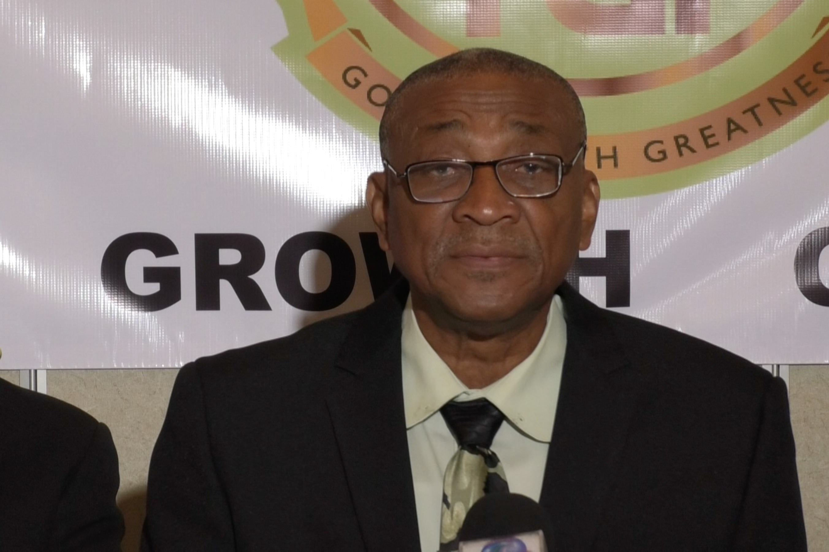 Opposition leader and President of the newly formed People's Party for Democracy and Development, Bishop Joseph Atherley