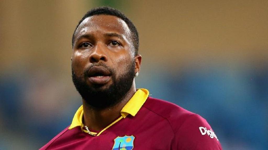 West Indies skipper Kieron Pollard.