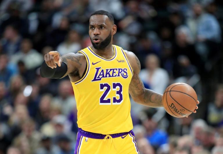 LeBron James des Los Angeles Lakers face aux Indiana Pacers, en NBA, le 17 décembre 2019 à Indianapolis