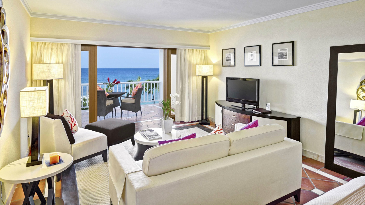 A view of one of the rooms at The House which was named as one of the Top Resort's in the Caribbean in the Condé Nast Traveler Readear's Choice Awards 2017.
