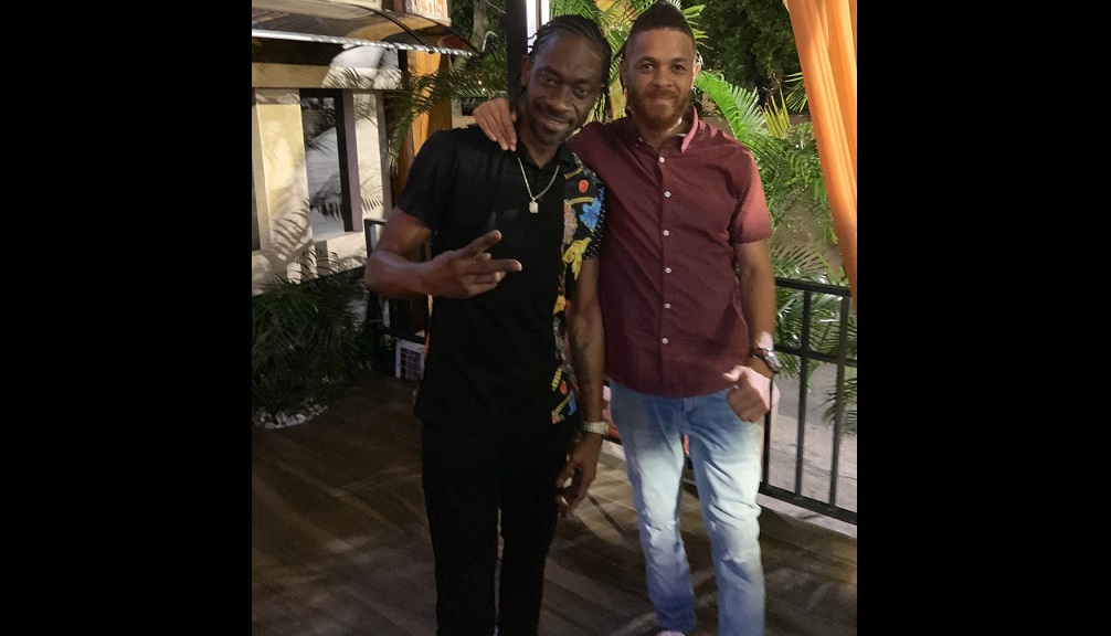 Panic (right) with Bounty Killer.