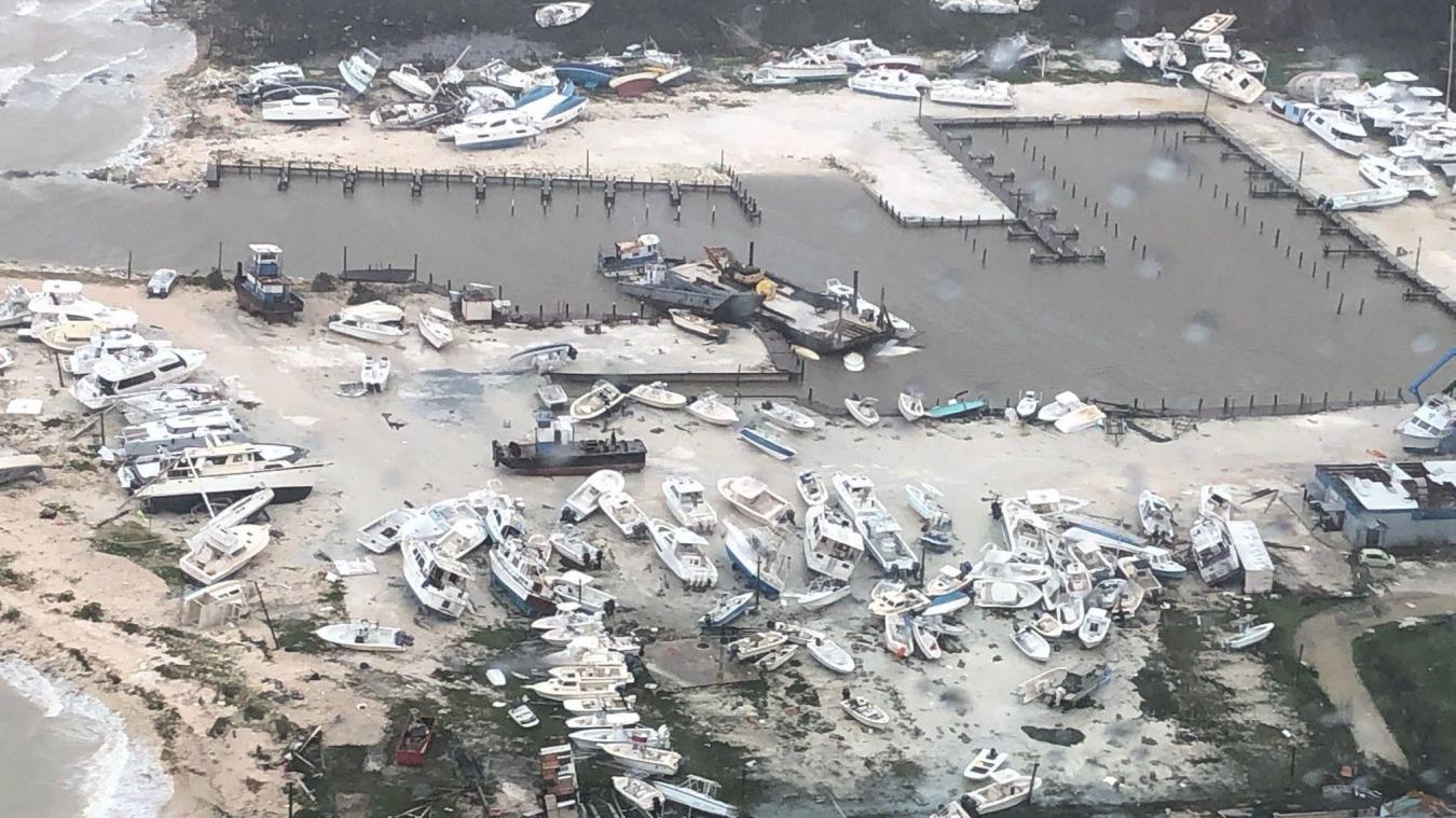 L'ouragan Dorian a ravagé le nord des Bahamas notamment Abaco et Grand Bahama/ AFP