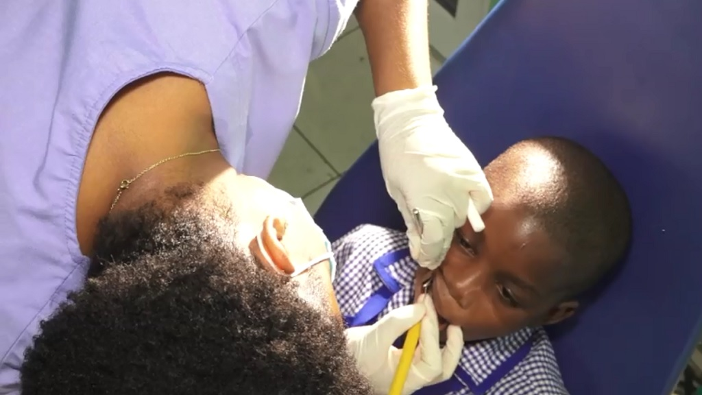 Beneficiaries received oral health examinations, extractions, cleanings and other services free of cost.