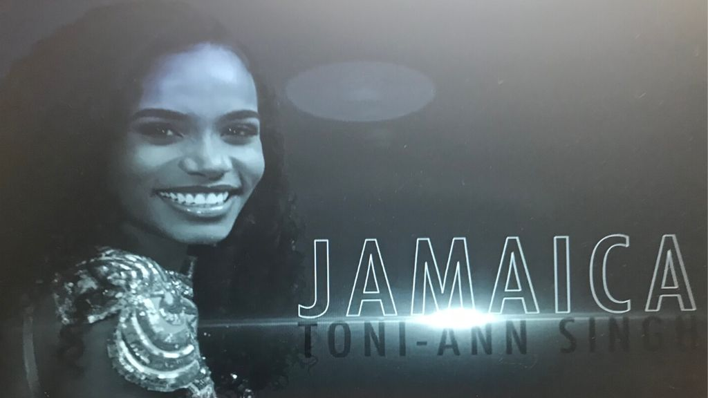Miss Jamaica World 2019 Toni-Ann Singh