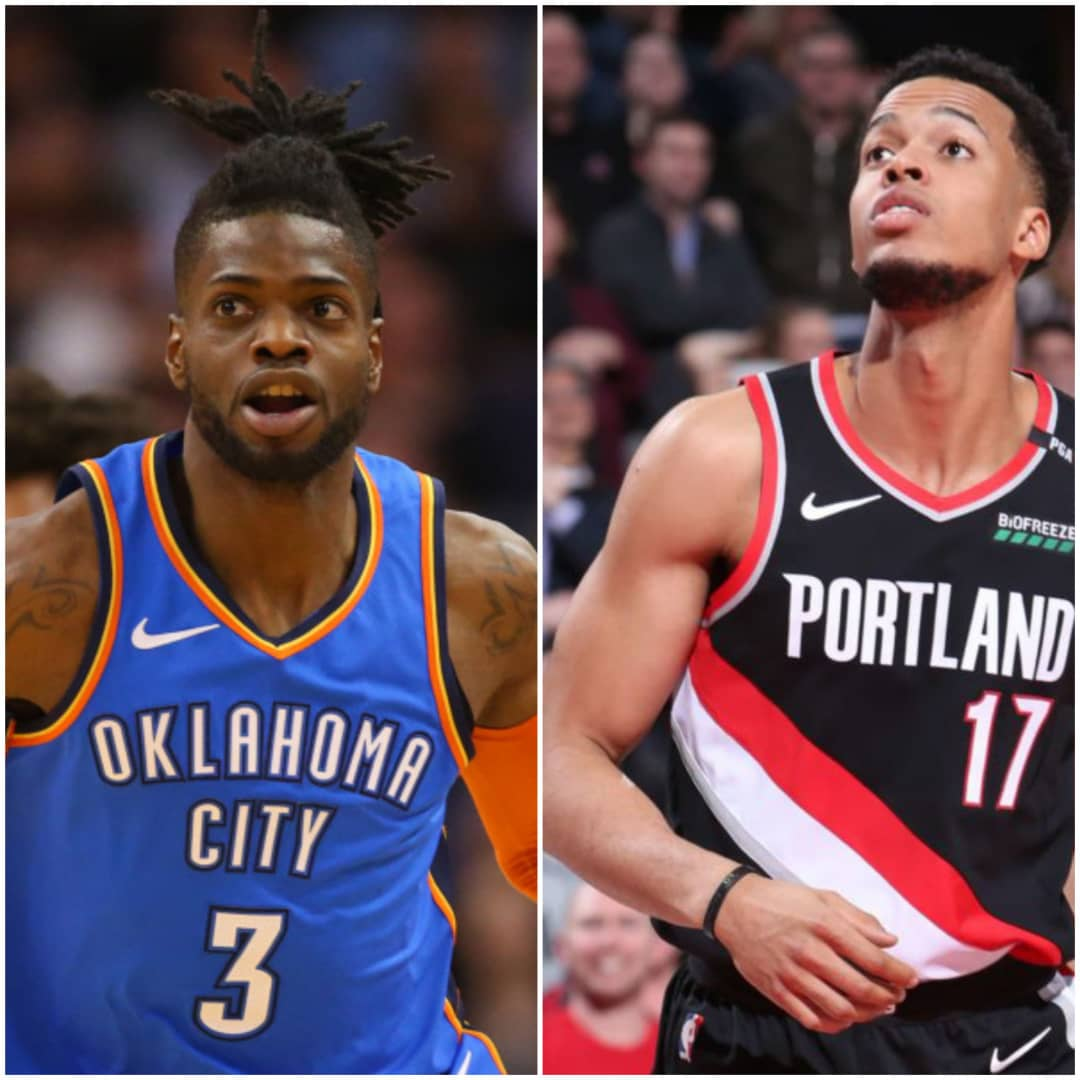 Photo-collage entre Nerlens Noel et Skal Labissière