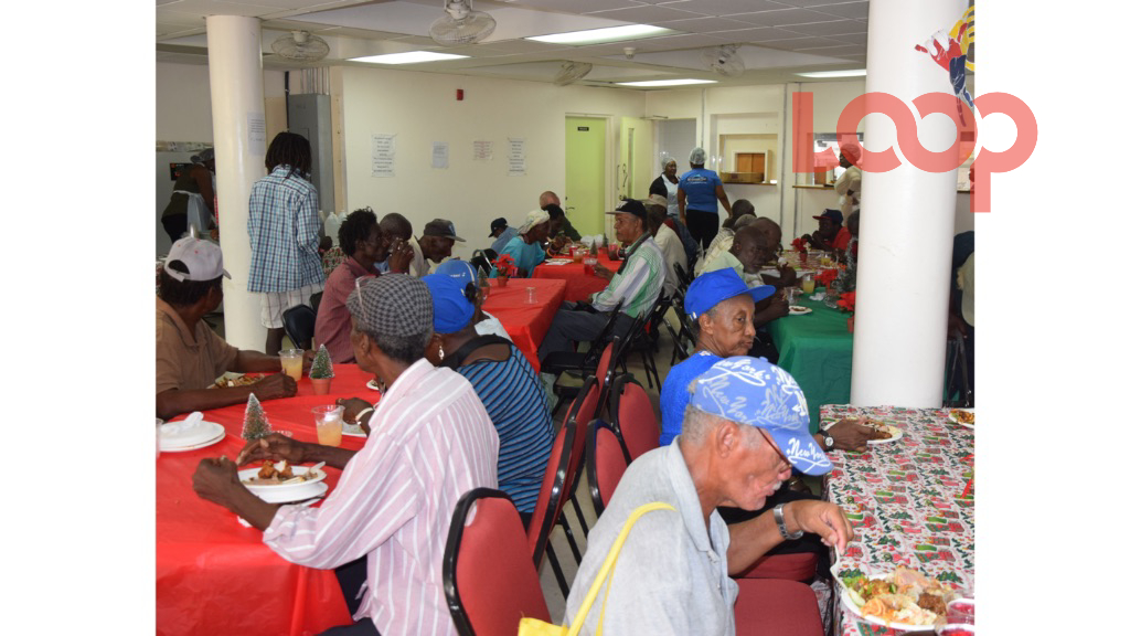 Hundreds gathered at the Salvation Army's Reed Street headquarters for their annual Christmas luncheon.