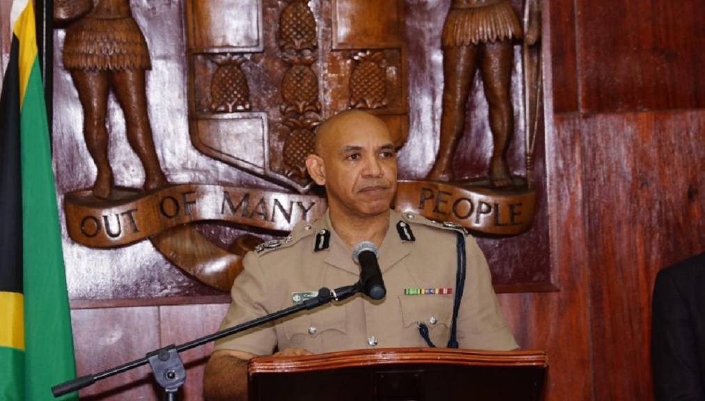 Police Commissioner, Major General Antony Anderson