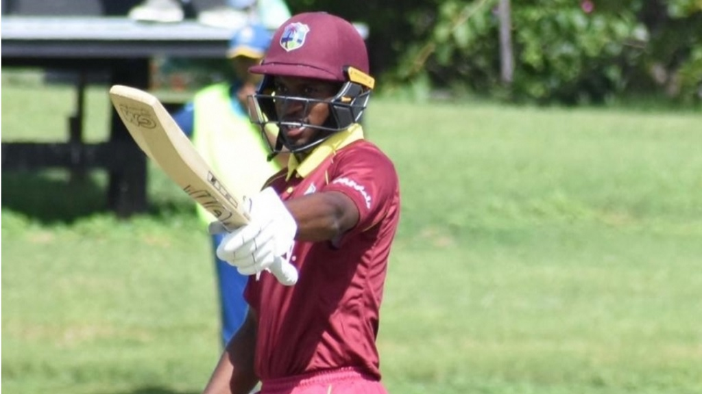 Nayeem Young scored 55 and took three wickets to see the West Indies U19s to victory.