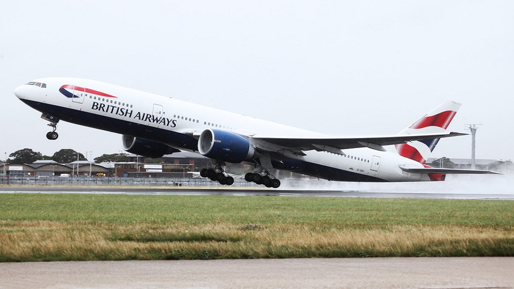 British Airways offers three levels of service from London Gatwick Airport to St. Lucia