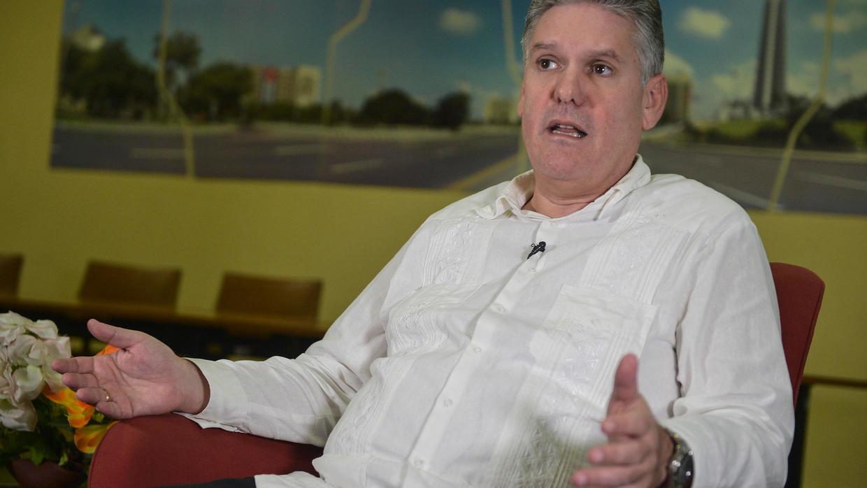 """Cuba: malgré l'embargo, """"nous résistons, sans renoncer"""" aux réformes. Photo: AFP"""