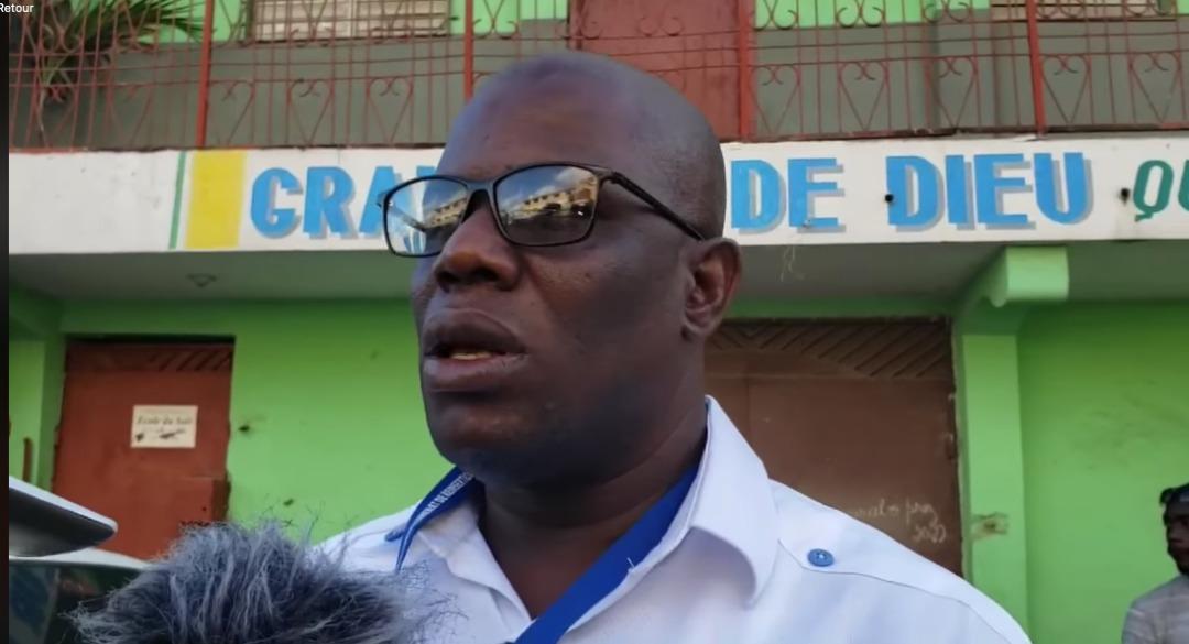 « La police n'y peut rien », déclare Jean Rebel Dorcenat, membre de la Commission Nationale de Désarmement, Démantèlement et Réinsertion (CNDDR)