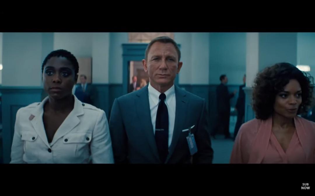 Capture d'écran de la bande annonce du nouveau James Bond