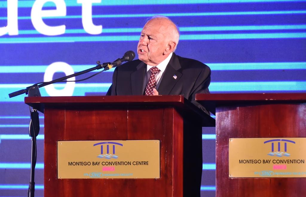 US Ambassador to Jamaica Donald Tapia