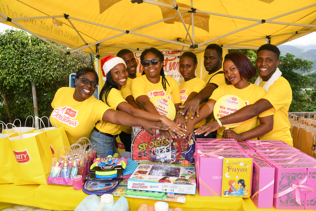 Toys, books, toiletries and other supplies were bought and the official donation was made to the S.O.S Children's Charity on December 14, just in time for Christmas.