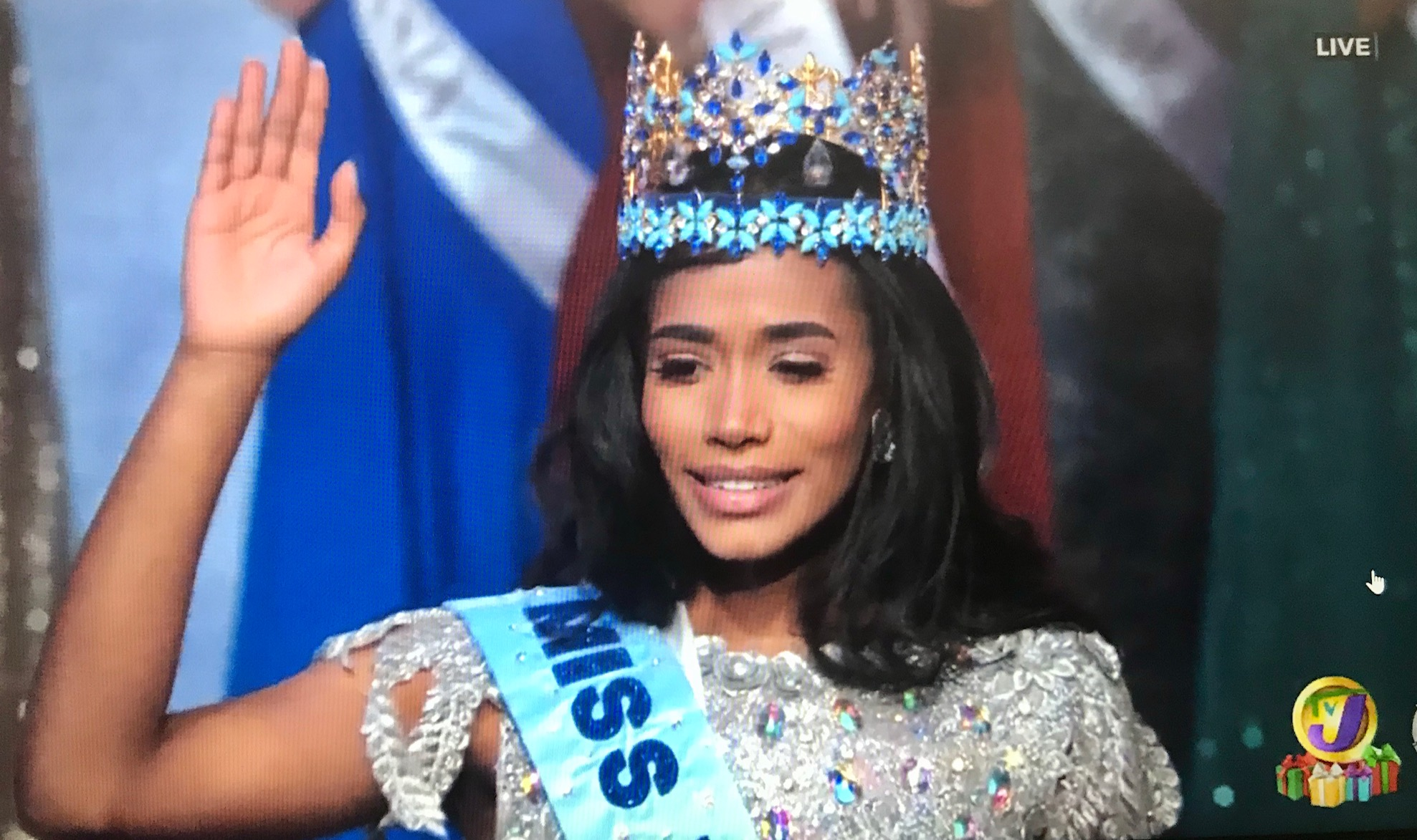 Miss World 2019 Toni-Ann Singh.