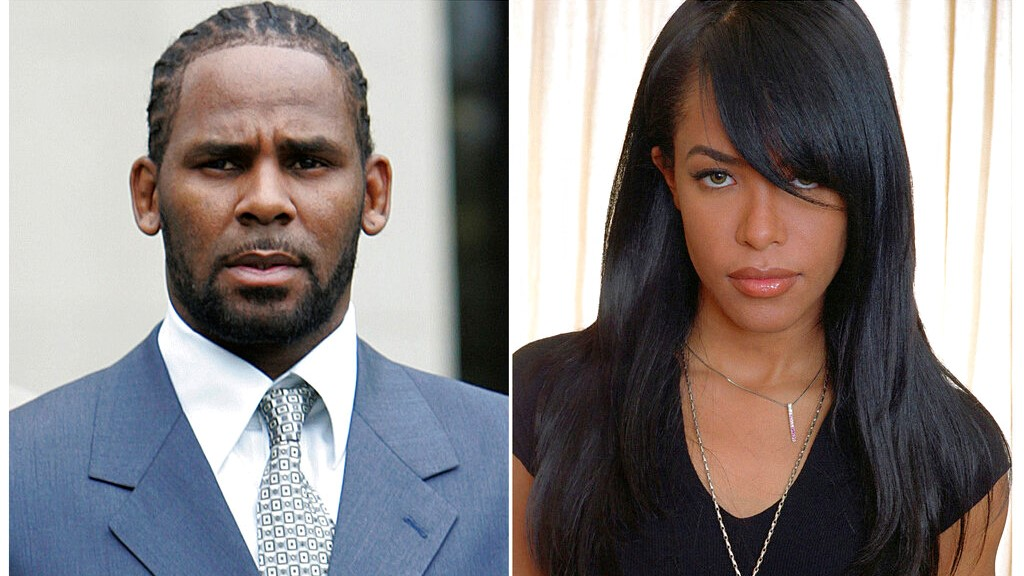 Kelly charged with paying bribe before marrying Aaliyah