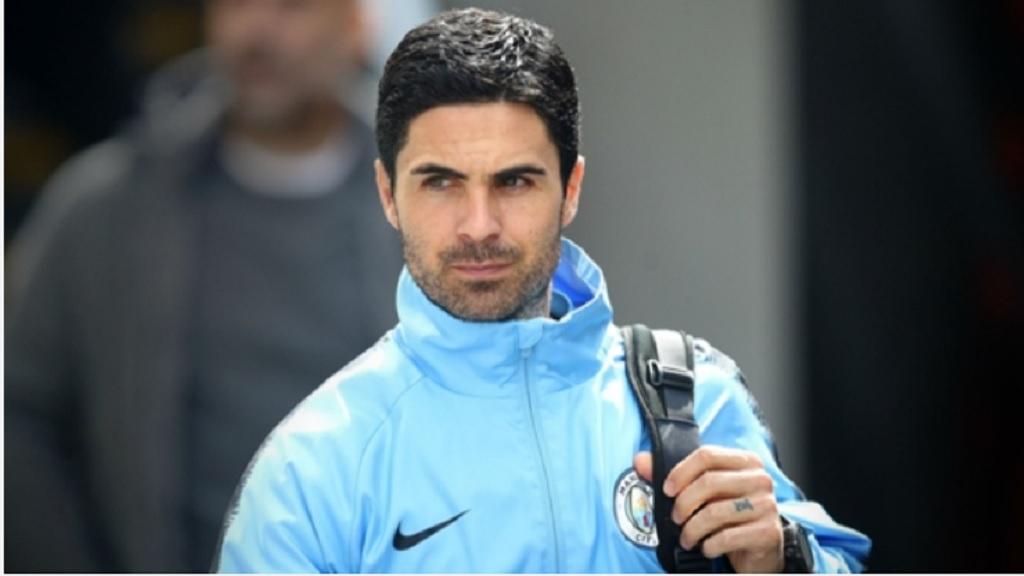 Manchester City assistant Mikel Arteta.