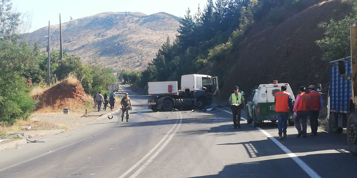 La scène de l'accident / Photo : La Opiniòn de Chiloé