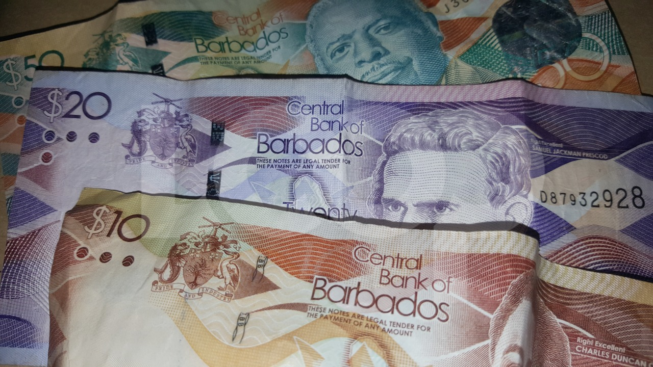 Barbados bank notes (FILE)