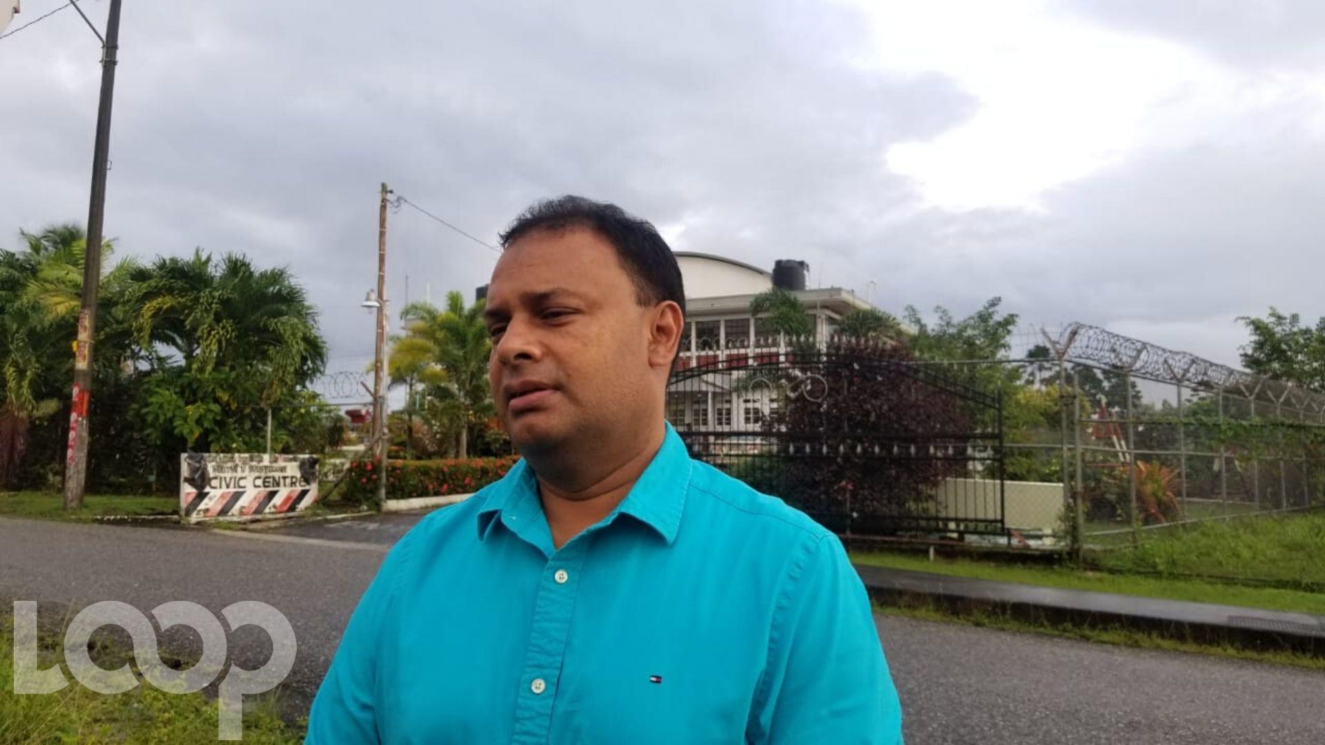 UNCCouncillor for Vega de Oropouche, Anil Juteram