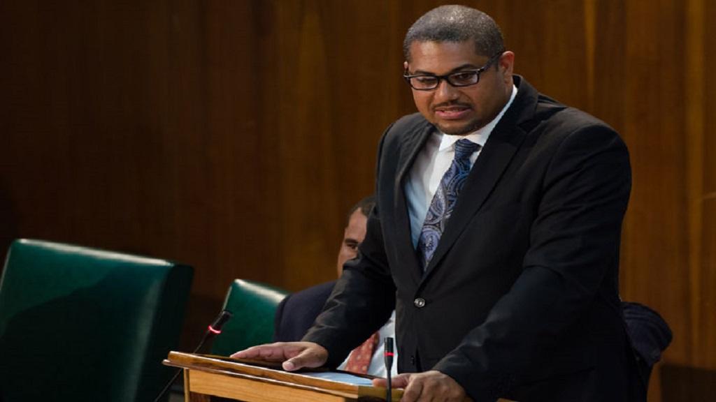 Mikael Phillips in Parliament (file photo)