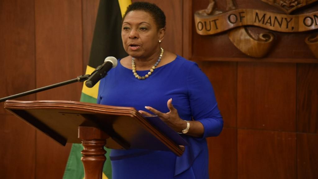 Minister of Sport, Olivia Grange.