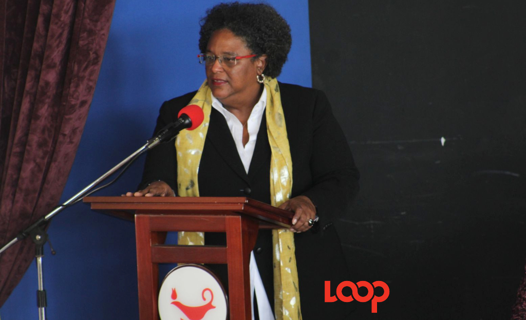The Hon. Mia Mottley speaks at the 2019 Speech Day at her alma mater Queen's College