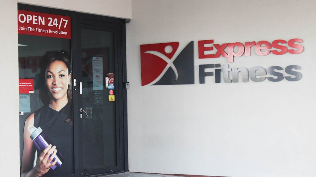 Express Fitness has 11 locations across the island.