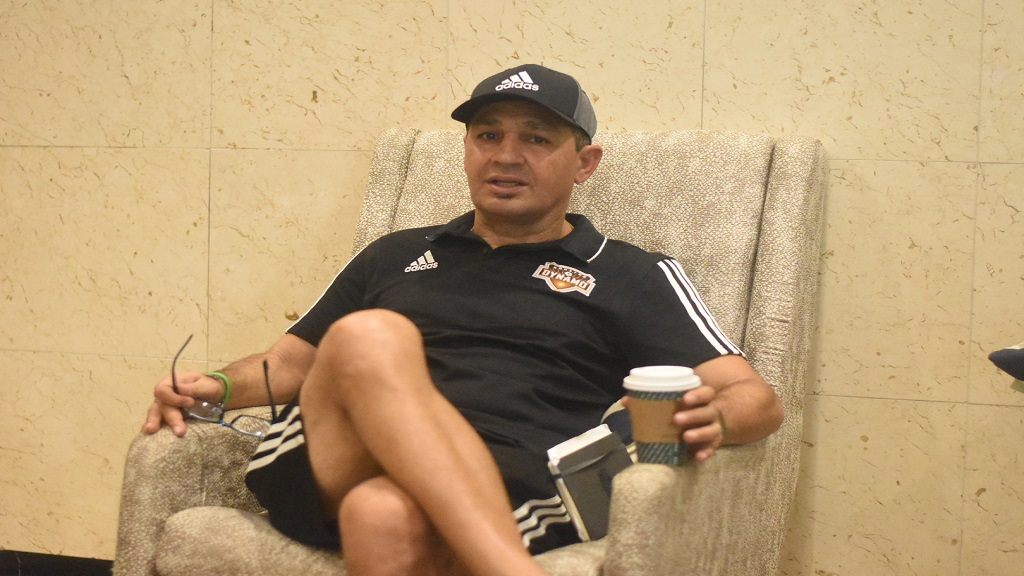 Omid Namazi, assistant coach of MLS club Houston Dynamo, speaks with Loop News.