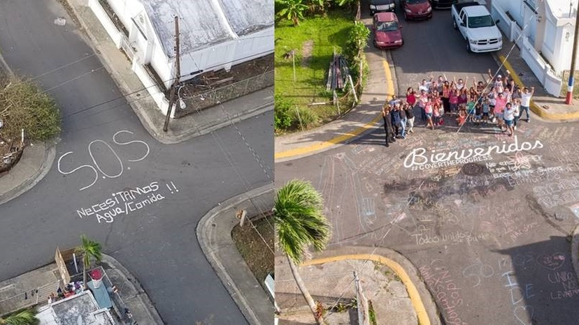 As Puerto Rico seeks to move on from the Hurricane images of last year, Humacao, the community that posted the viral SOS sign, is now welcoming visitors to the island.