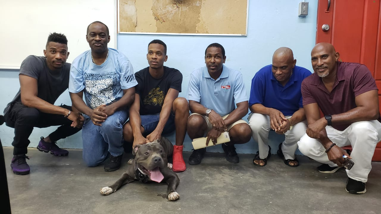 Newly elected executive of the St Lucia Kennel Club