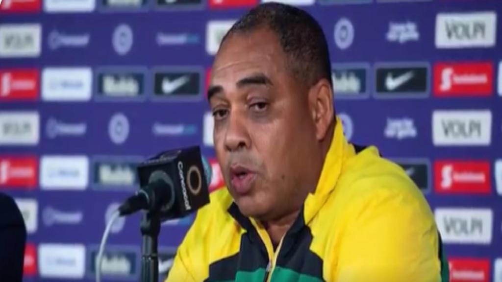 Hue Menzies, the Jamaican women's national football team coach.