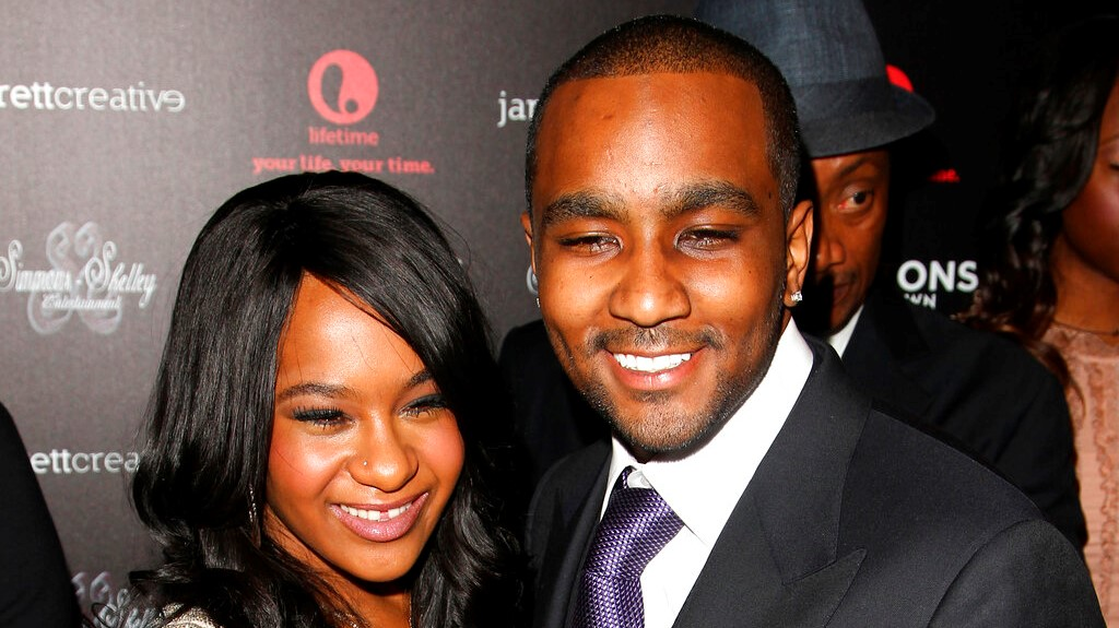 "In this Oct. 22, 2012, file photo, Bobbi Kristina Brown and Nick Gordon attend the premiere party for ""The Houstons On Our Own"" at the Tribeca Grand hotel in New York. (Photo by Donald Traill/Invision/AP, File)"
